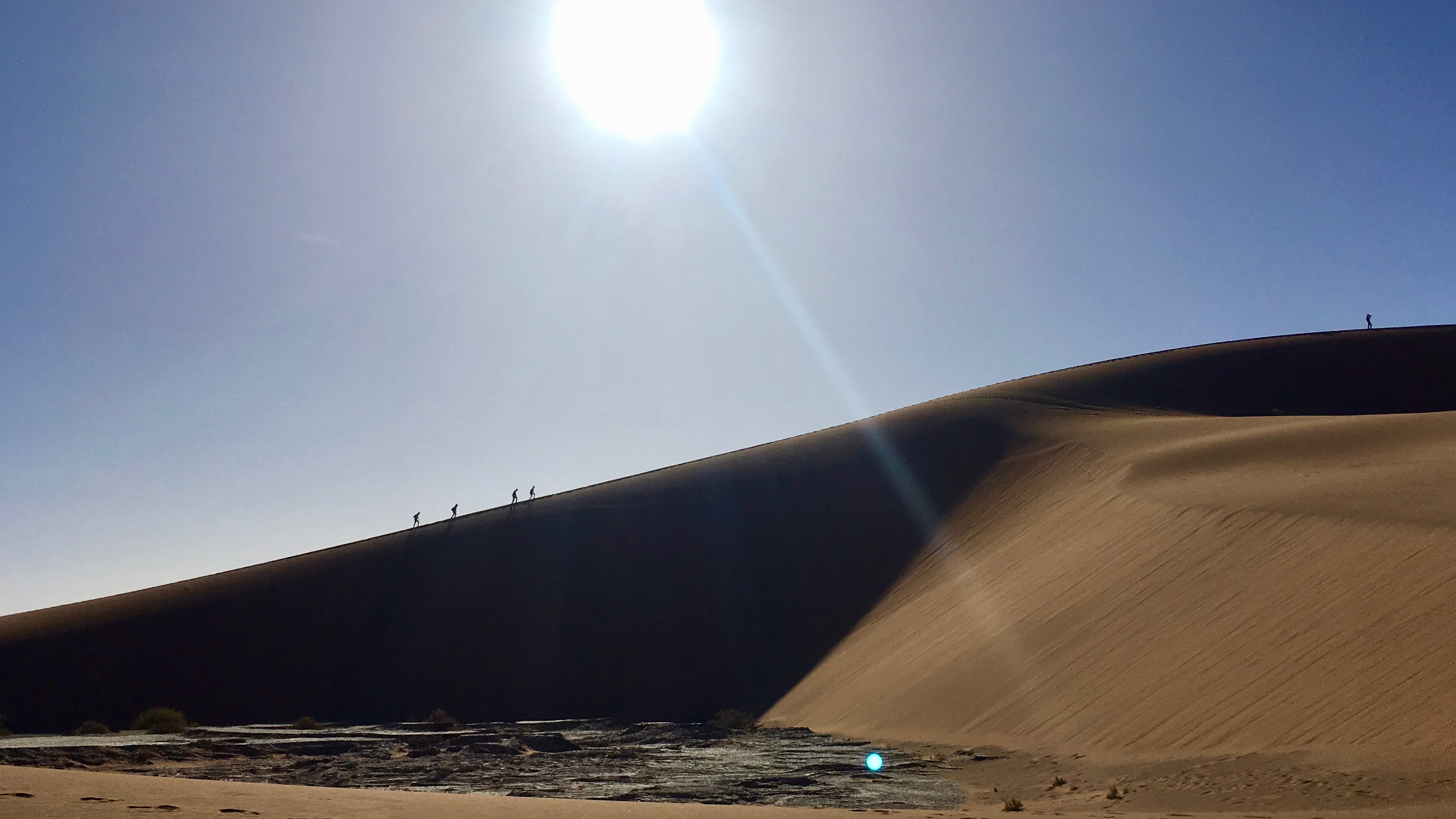 The Largest sand dune in the world